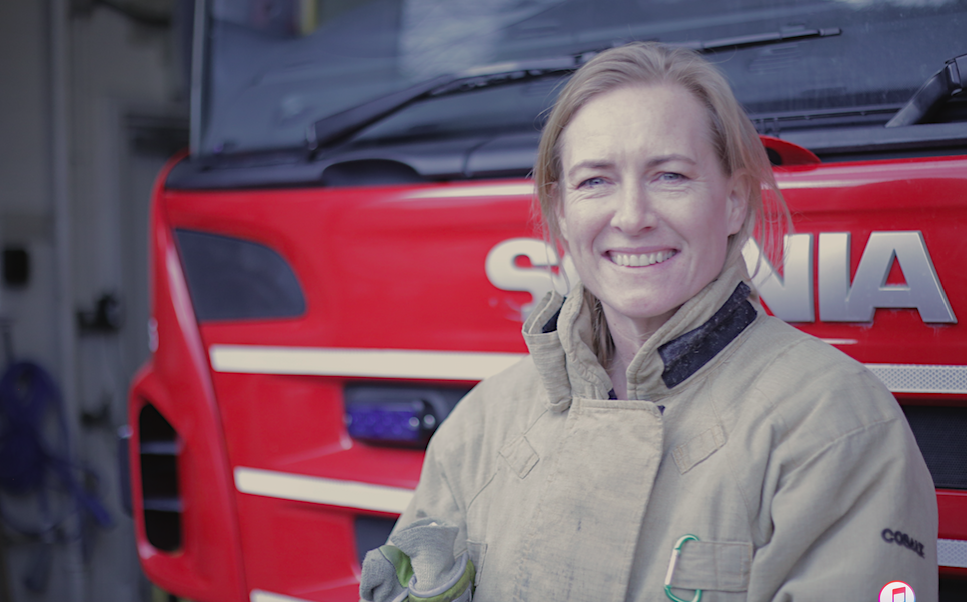 Helen – Firefighter extraordinaire
